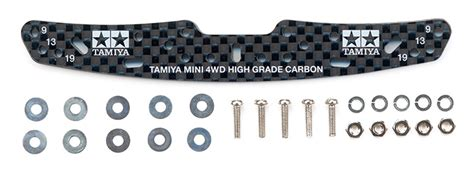 Tamiya 95258 Hg Carbon Multi Roller Setting Stay 3mm 1 hg carbon multi roller setting stay 3mm