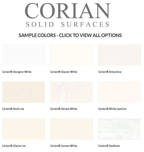 corian finishes solid surface countertops for kitchen and bath athena