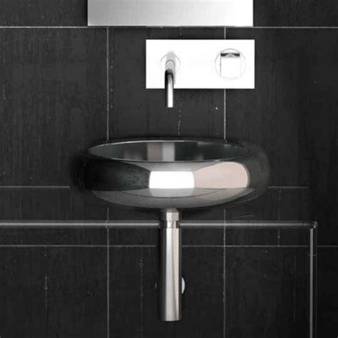 stainless steel vessel sinks bathroom glo 15 7 quot blue stainless steel vessel sink
