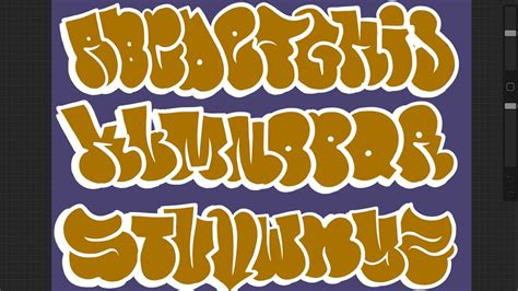 contoh graffiti creator bubble letters   contoh