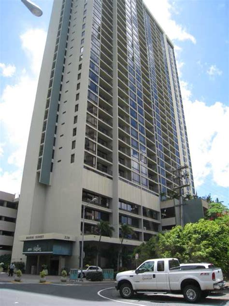 560 Sq Ft by Oahu Vacation Condo Aston Waikiki Sunset Formerly