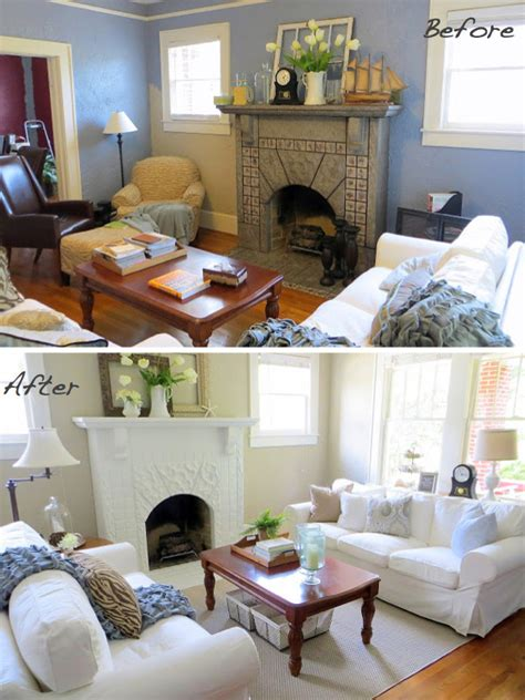 Painting House Interior Before Amp After 15 Fireplace Surrounds Made Over