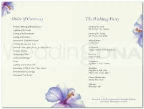 wedding program free template free and wedding program templates a batty