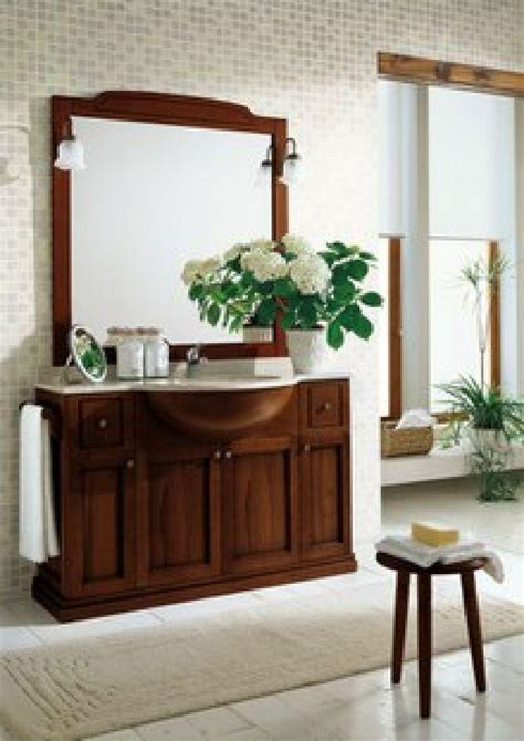 mobili arredo prezzo arredo bagno con specchiera in arte povera