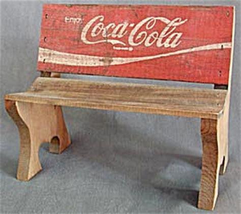 coca cola bench coca cola wooden bench food drinks at silversnow