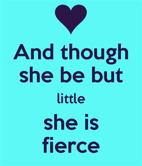 and though he be little top though she but little she is fierce images for