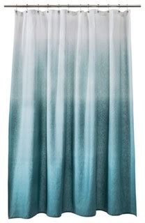 threshold ombre shower curtain threshold ombr 233 shower curtain blue beach style
