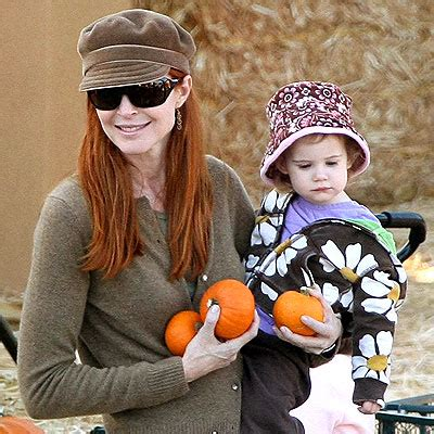 Adorable Photos Of Marcia Cross And At The Park by Pumpkin Patch