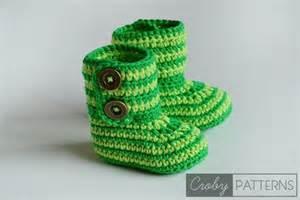 crochet baby booties patterns for sweet little feet