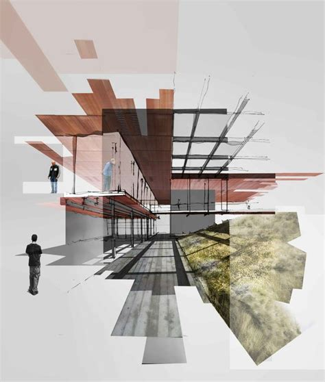 make architectural drawings wissam bou chahine architectural collage renderings