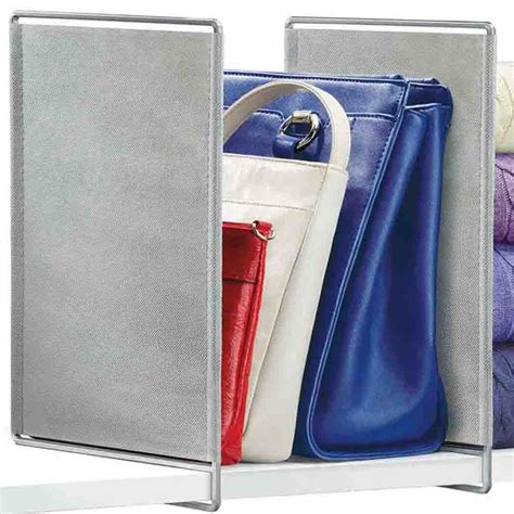 Shelf Dividers For Closets by Closet Shelf Dividers Set Of 2 In Shelf Dividers
