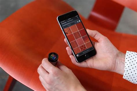 what s the device that can tell paint color color muse device variable inc