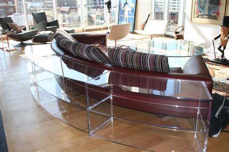 custom made living room furniture custom made plexi glass furniture contemporary living