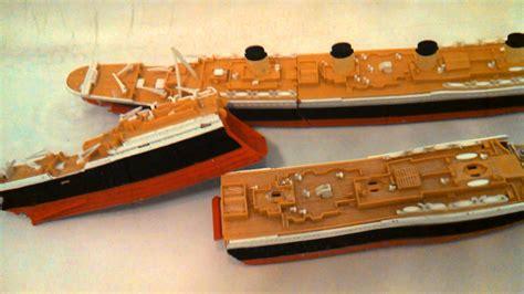 Titanic Sinking Model by Titanic Submersible Model 2