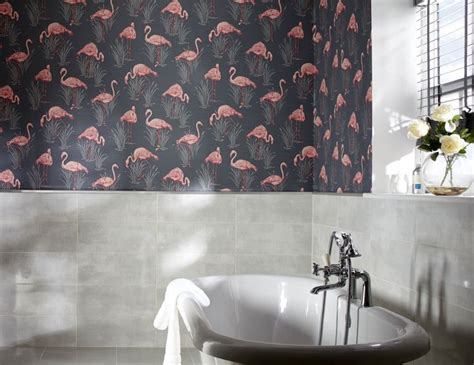 flamingo wallpaper sle 16 best flamingo wallpapers interiors images on