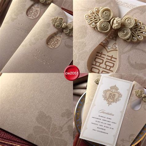 High Quality Wedding Invitation Cards by High Quality Style Qipao Wedding Invitation