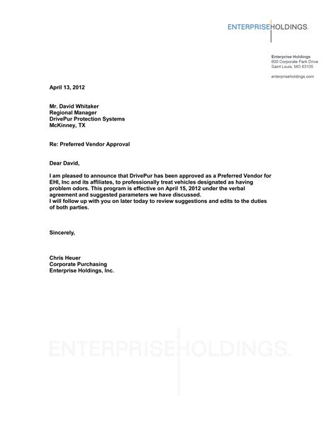 Sle Of Business Letter 8 sle business recommendation letter free sle 28 images