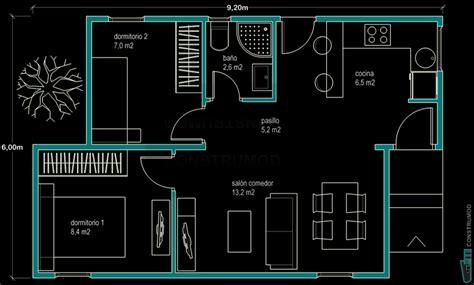 Planta Casas construmod plano casa moderna 48m2 a