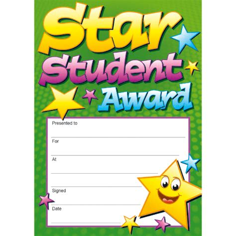 printable all star certificates image gallery student awards