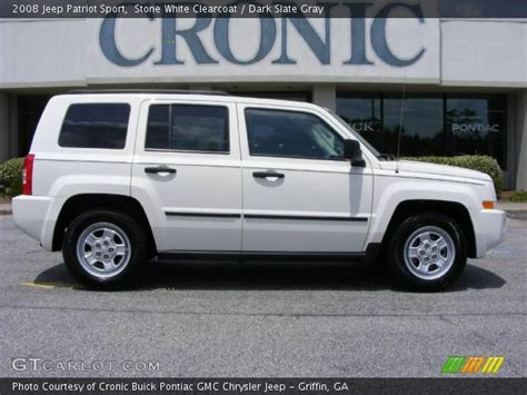 white jeep patriot 2008 white clearcoat 2008 jeep patriot sport