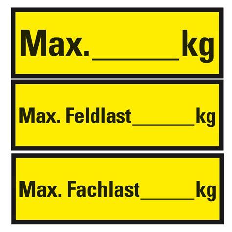 Kennzeichen Aufkleber Pdf by Regalkennzeichnung Regalbelastungs Aufkleber