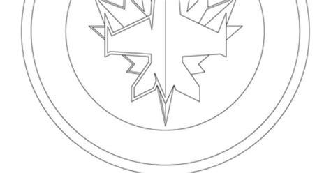 jets hockey coloring pages winnipeg jets logo coloring page winnipeg jets