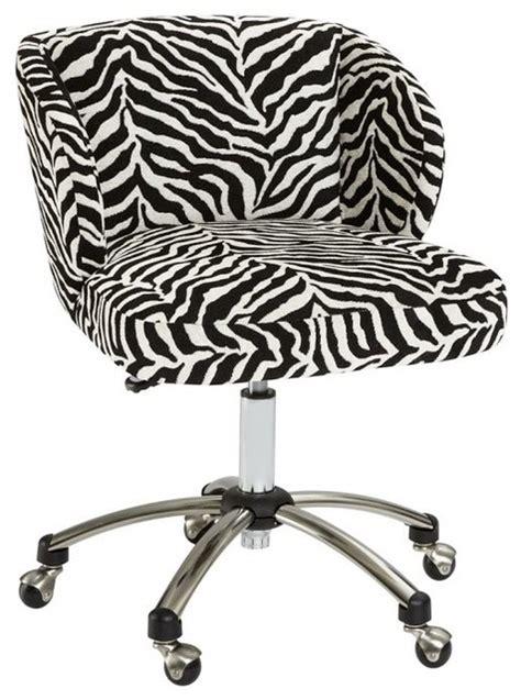 zebra print desk chair office chair zebra office chair furniture