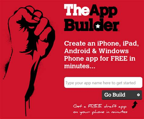 create mobile apps create mobile apps in minutes using theappbuilder
