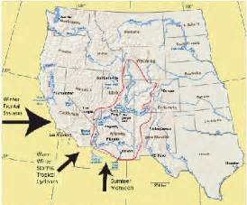 united states map with colorado river a dire shortage of water science news for students