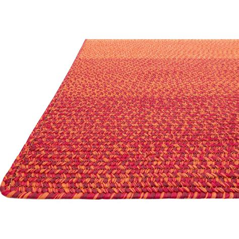 Zadie Coastal Beach Spice Red Outdoor Rug 5x7 6 Kathy Outdoor Rug 5x7