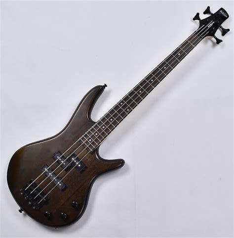 Bridge Bass 5s Ibanez ibanez gsrm20b wnf mikro series electric bass in walnut flat reverb