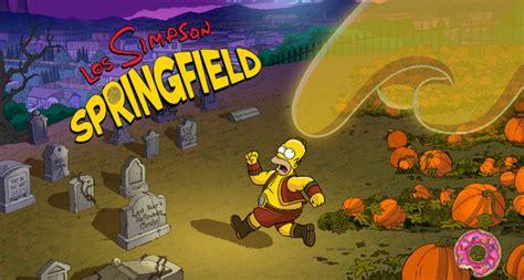 halloween imagenes los simpson los simpson springfield 4 5 1 halloween consigue donas y