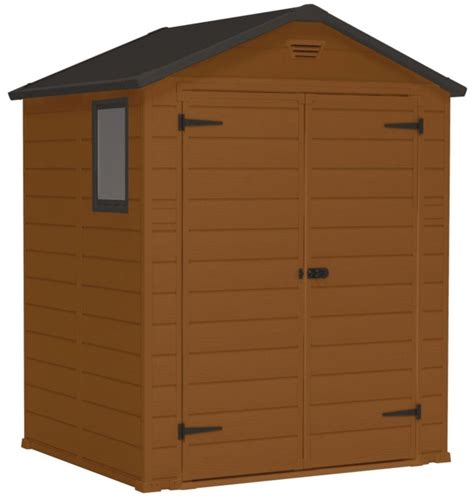 Blooma Plastic Shed by Blooma 6 X 5 Plastic Shed