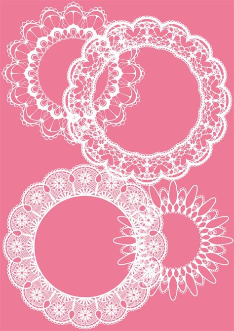 lace pattern ai free pattern lace vector graphics collection my free
