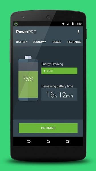 power 2 0 9 apk powerpro battery saver 1 2 0 apk for android softstribe