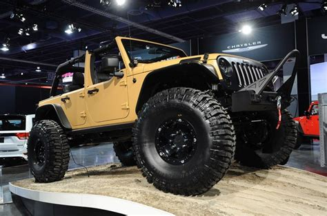 Jeep Aftermarket Mopar Launches Jeep Performance Parts With Wrangler Sand