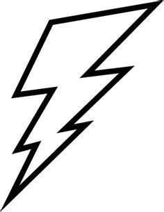 Free Lightning Bolt Stencil Lightening Clip Art Templates Lightning Bolt Template