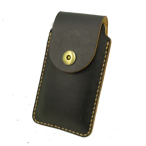 Handmade Leather Cell Phone Holsters - get cheap custom leather cell phone holster