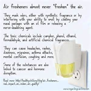 Air Fresheners Unsafe Air Fresheners Toxic Asthma Asthma