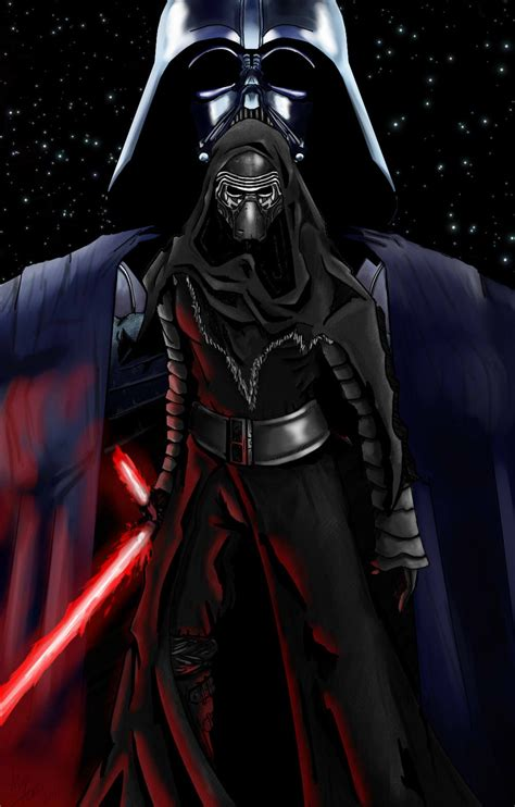 Shadow Of Kylo Ren dope on sith darth vader and the