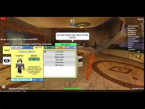 roblox how to hack twisted murderer (shop hack) (read