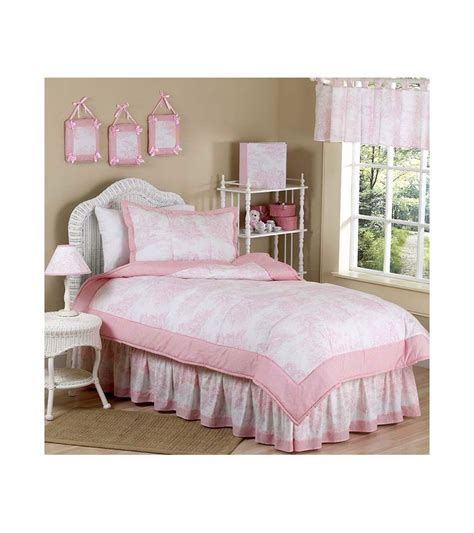 Pink Toile Crib Bedding Sweet Jojo Designs Pink Toile Bedding Set