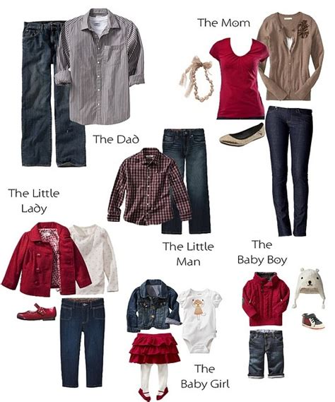 what to wear for family photos clothing ideas