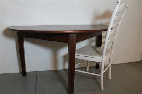 half moon kitchen table half moon reading table farmhouse side tables and end