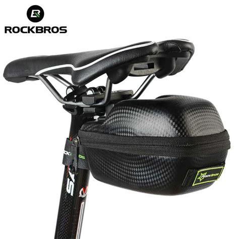 rockbros tas jok sepeda saddle safety bag waterproof
