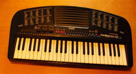 Keyboard Casio Ma 120 Ma 120 Casio Ma 120 Audiofanzine