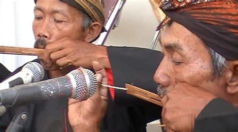 Kursi Bambu Sragen musik kuno pemikat cinta dan pengusir hama khas wonogiri