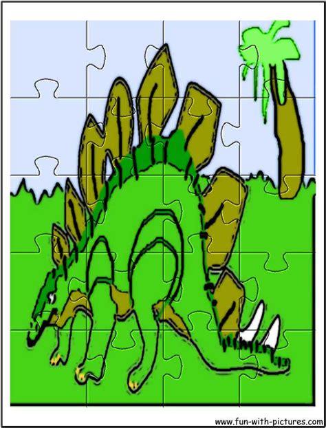 Printable Dinosaur Jigsaw Puzzles | printable dinosaur jigsaw