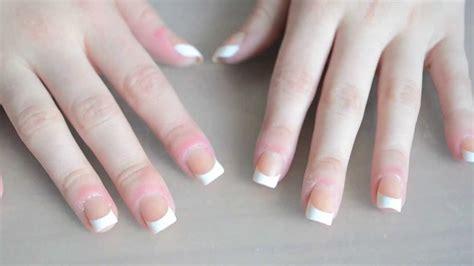 imagenes de uñas pintadas postizas como poner u 241 as postizas raquechunis youtube