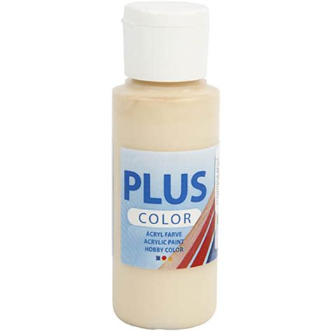 plus color acrylic paint ivory beige scrapparazzi